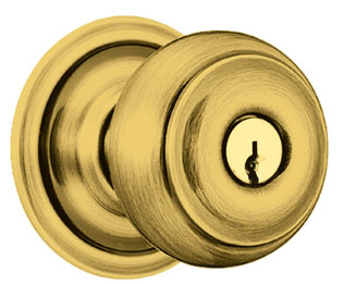 how to put a doorknob on a closet door