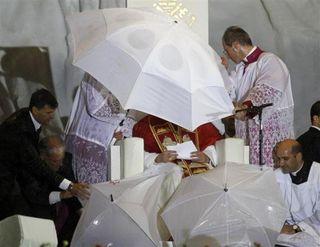 Pope-rain