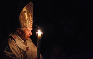Easter dark pope