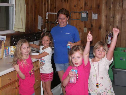003 - girls in kitchen