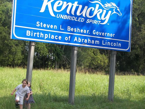 Kentucky State Line with Kids