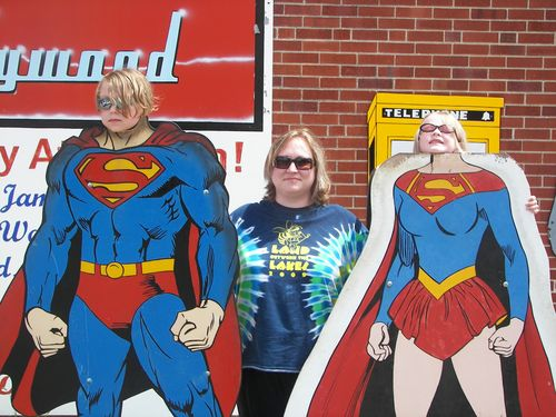 Superkids with Mom