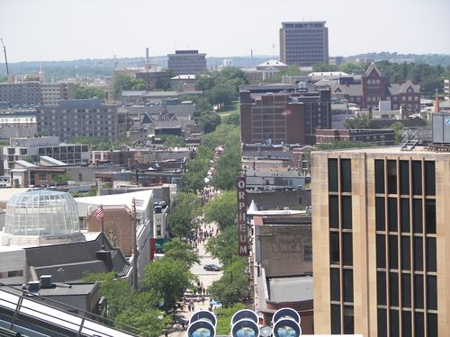State Street from the Dome
