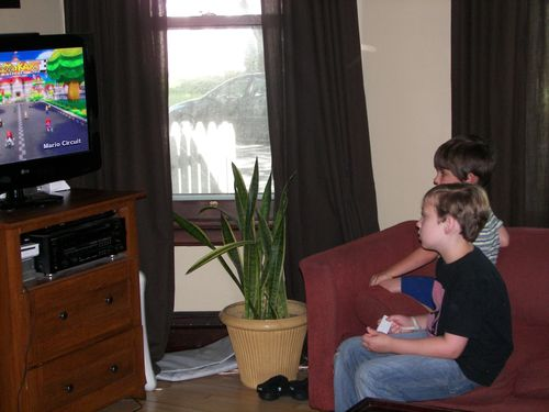 Max & Ben and Mario Kart