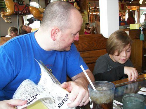 Eric and Max at Ella's