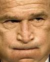 Uspresidentbushfacebursting2006afpb